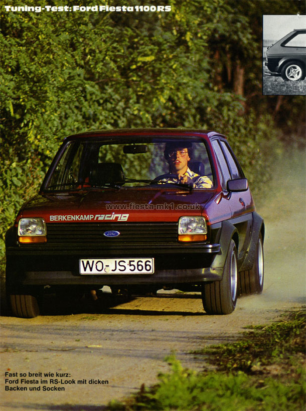 Auto Racing Shoes >> Ford Fiesta MK1 » Magazine Articles DE » Sport Auto » Road