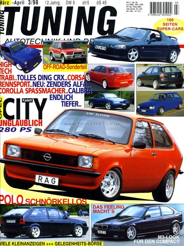 Ford Fiesta Mk1 Magazine Articles De Tuning Feature Fiesta