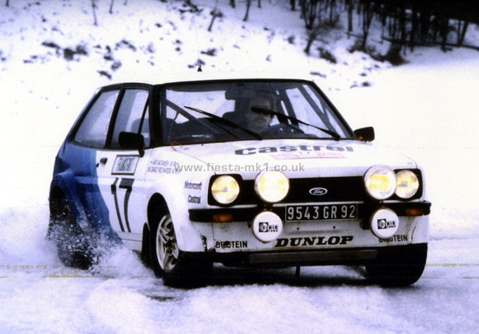 Ford Fiesta Mk1 187 Press Releases Adverts 187 Group 2 Rally